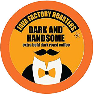 Java Factory Dark and Handsome Single Serve Capsules 24 ct.