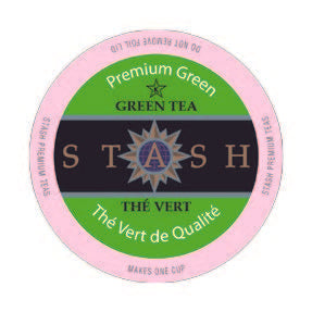 Stash Tea Premium Green Single Serve Capsules 24 ct.