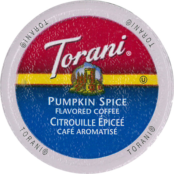 Torani Pumpkin Spice Single Serve Capsules 24 ct.