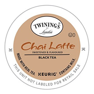 Twinings Chai Latte Tea Single Cup Pods  24 ct.