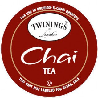 Twinings Chai Tea Single Cup Pods  24 ct.