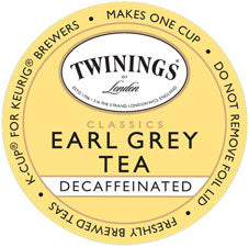 Twinings Decaf Earl Grey Tea Single Cup Pods  24 ct.