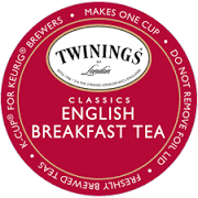 Twinings English Breakfast Tea Single Cup Pods  24 ct.