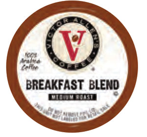 Victor Allen's Breakfast Blend Single Serve Capsules 24 ct.