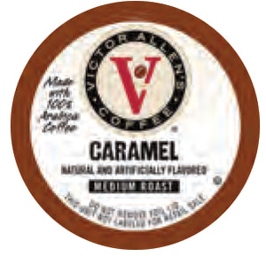 Victor Allen's Caramel Single Serve Capsules 24 ct.