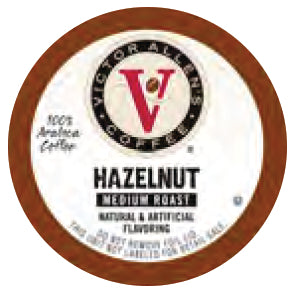 Victor Allen's Hazelnut Single Serve Capsules 80 ct.