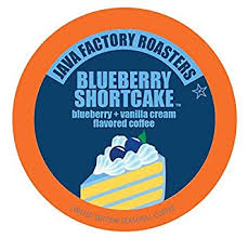 Java Factory Blueberry Shortcake Single Serve Capsules 24 ct.