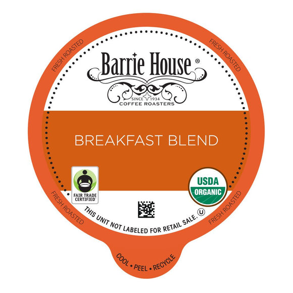 Barrie House FTO Breakfast Blend Single Serve Capsules 24 ct.