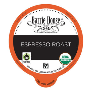 Barrie House FTO Espresso Roast Single Serve Capsules 24 ct.
