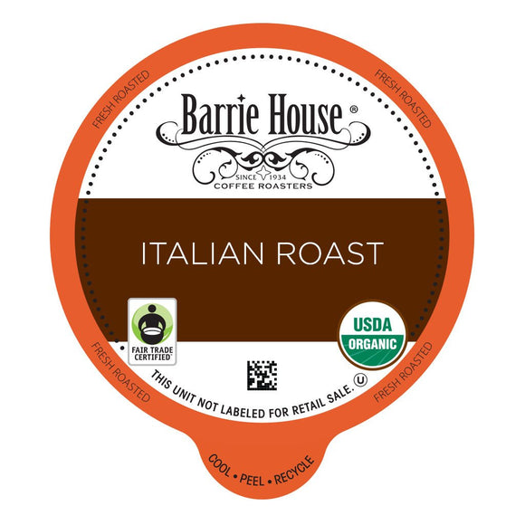 Barrie House FTO Italian Roast Single Serve Capsules 24 ct.