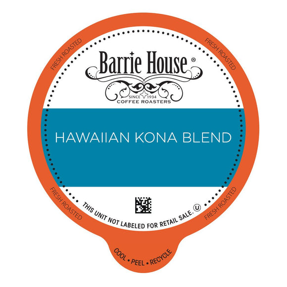 Barrie House Hawaiian Kona Hapa Single Serve Capsules 24 ct.
