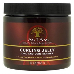 As I Am Curling Jelly (gelee coiffante cheveux souples) - 454g