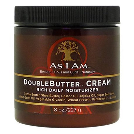AS I AM – boubleButter cream – creme quotidienne riche - 454g AFROLAB
