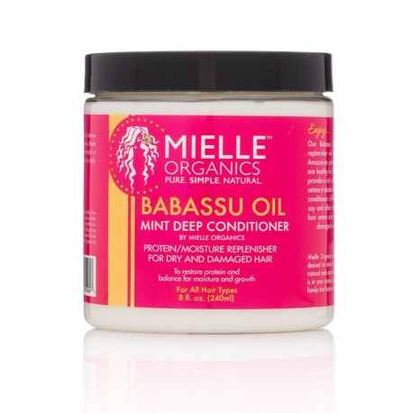 Mielle Organic Babassu Oil Mint Deep Conditioner Masque
