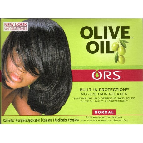 ORS Olive Oil Built-In Protection - Défrisant sans soude extra fort Afrolab