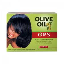 ORS Olive Oil Built-In Protection - Défrisant sans soude normal - Afrolab