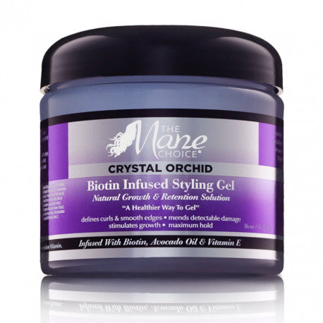 The Mane Choice Crystal Orchid Gel Coiffant A La Biotine (452g) Afrolab