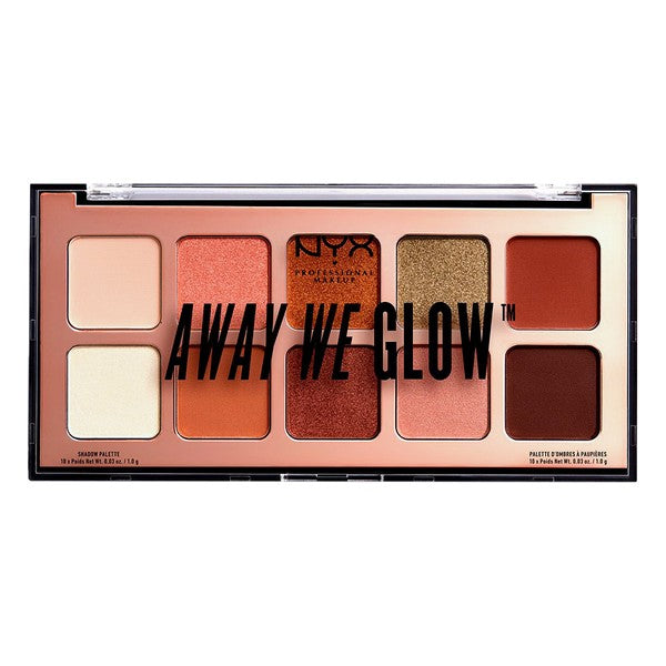 NYX Eye Shadow Palette Away We Glow - LeeFed