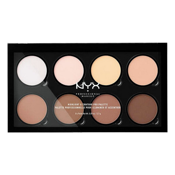 Highlighter Highlight & Contour Pro NYX (8 x 2,7 g) - LeeFed