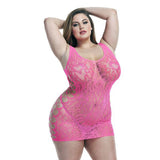 Pink Leopard Lapdance Dress - LeeFed