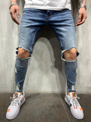 Blue Jeans Knee Out 4409 - LeeFed