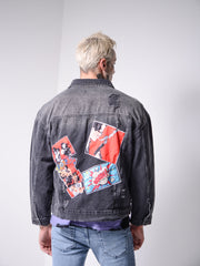 Comics Denim Jacket 4688