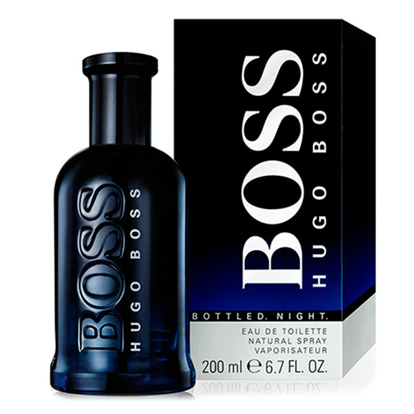 Men's Perfume Boss Bottled Night Hugo Boss-boss EDT - LeeFed