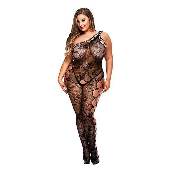 Lace Suspender Bodysuit Queen - Myleefed