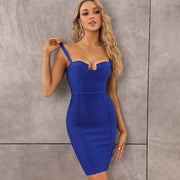 Single Strap Tube Bandage Dress