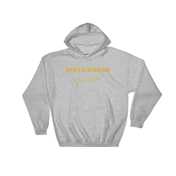 INFLUENCER Gold Edition Hoodie