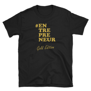 ENTREPRENEUR Gold Edition T-shirt