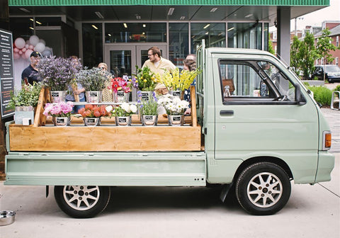Pop-up peonies: Mobile flower truck tries bringing bouquets to Pittsburgh