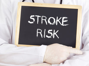 How common is incontinence after a stroke?