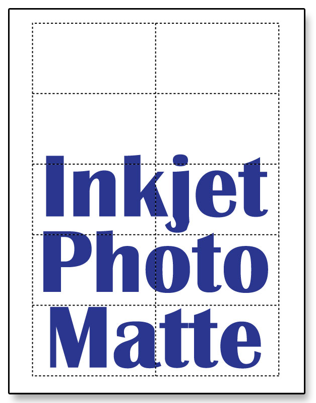 Photo Matte Business Cards