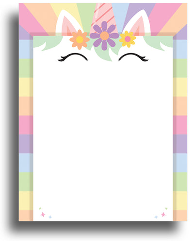 Mystical Letterhead - Lucky Unicorn - (Sheets: 80)