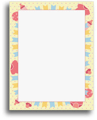Baby Stationery - Baby Time Fun - (80 Sheets)