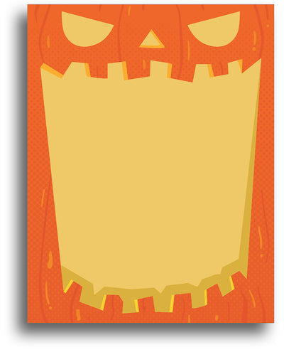 Spooky Stationery - Jack-o-Lantern - Halloween Theme