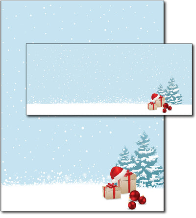 Christmas Stationery | Christmas Morning | (With Envelopes)