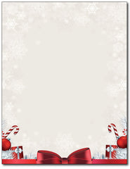 Holiday Present Stationery