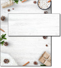 Christmas Stationery - Holiday Elements - (With Envelopes)