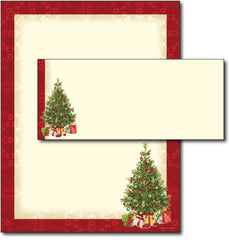 Lacy Tree Letterhead & Envelopes - 40 Sets, compatible with inkjet and laser