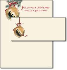 Holy Family Letterhead & Envelopes - 40 Sets, compatible with inkjet and laser