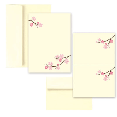 Blossom Branches Invitation & Card Kit