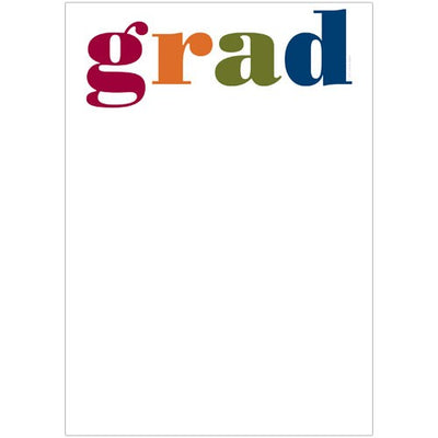 Colorful Grad Invitations with Envelopes