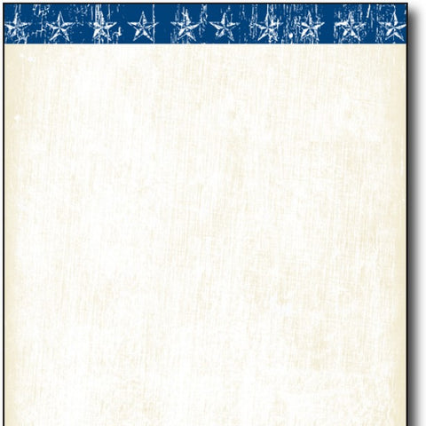 Patriotic Stationery Paper