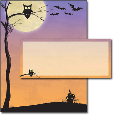 Halloween Who Letterhead & Envelopes