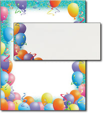 Celebration Paper - Party Letterhead - (Includes Envelope)