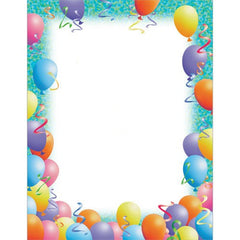 Party Letterhead Paper - 80 Sheets