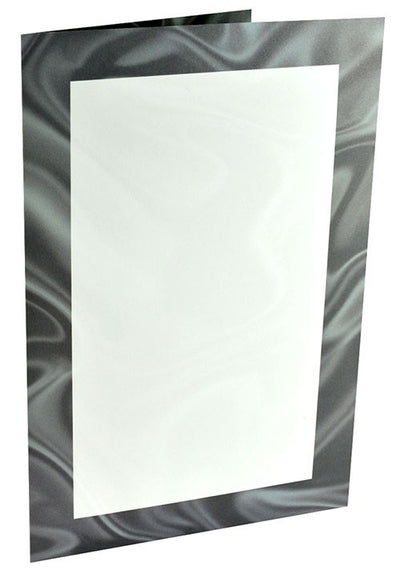 Black Tie Two Panel Brochure