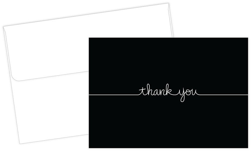 Grace Thank You Card Sets - 50 Cards